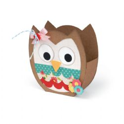 659720 Sizzix Bigz XL Die - Bag, Owl by Lori Whitlock